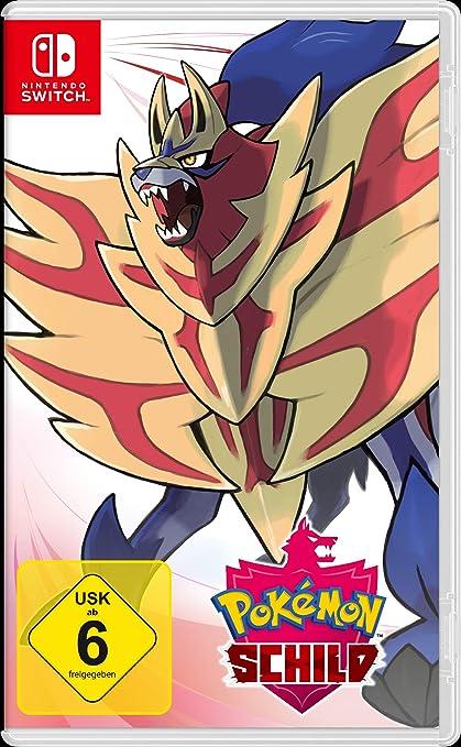 Nintendo Switch Pokemon Schild: Amazon.es: Electrónica