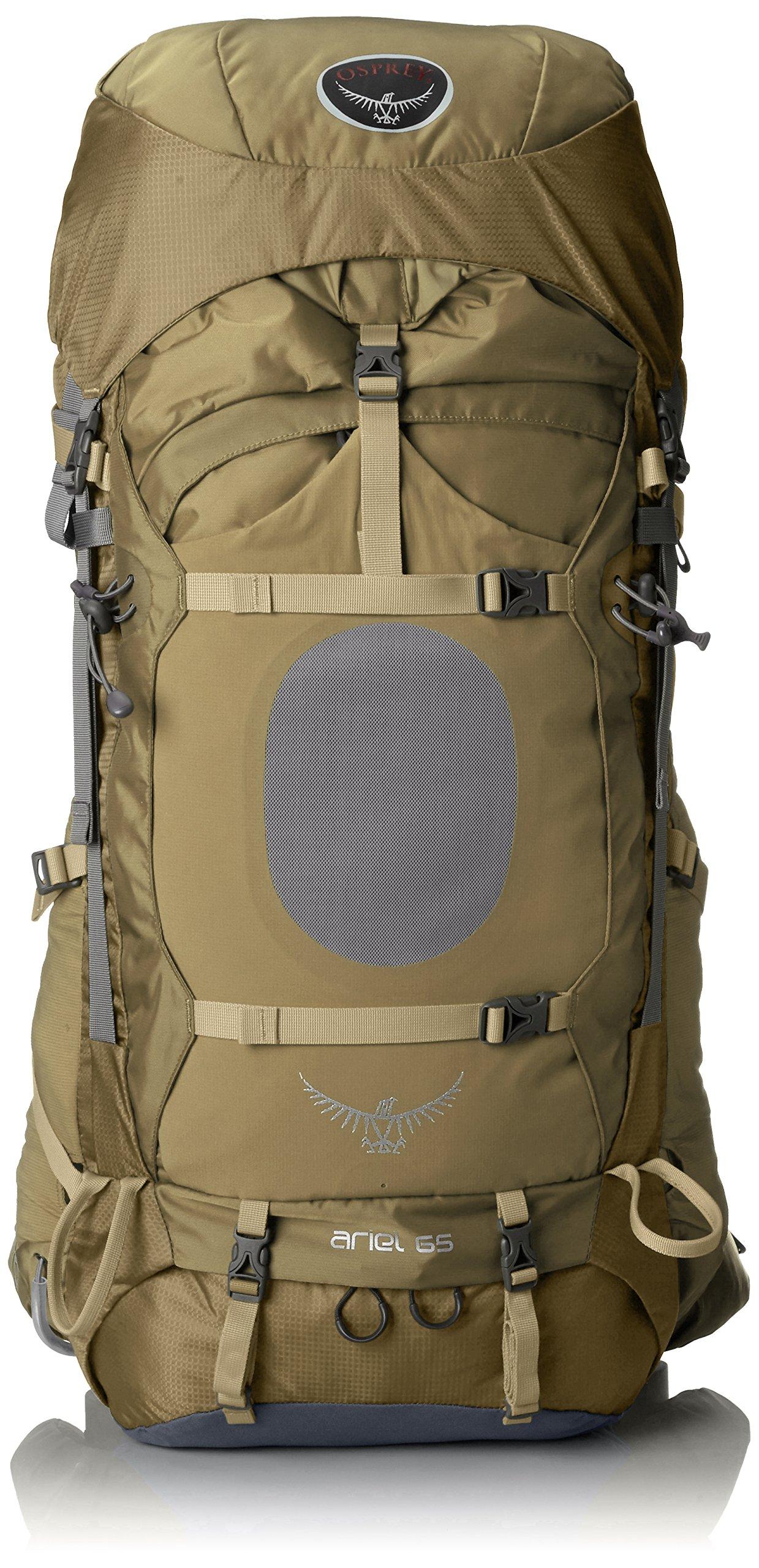 Osprey Women's Ariel 65 Backpack, Summer Wheat Brown, X-Small