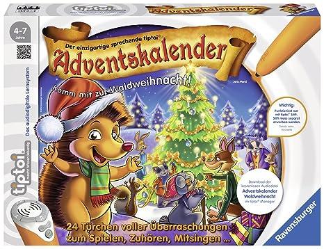 Calendario Avvento Ravensburger.Ravensburger 00758 Calendario Dell Avvento Foresta Di