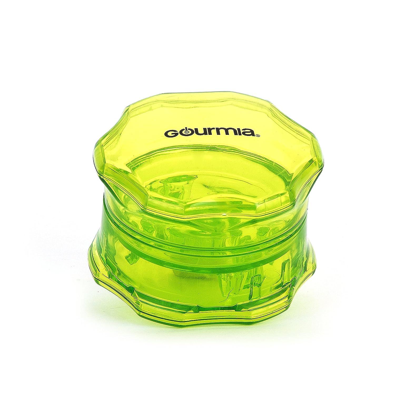 Gourmia GCU9260 Manual Garlic Twist BPA Free No Press Garlic Peeler & Crusher 7.2 cm [Diameter] x 4.8 cm [Height]