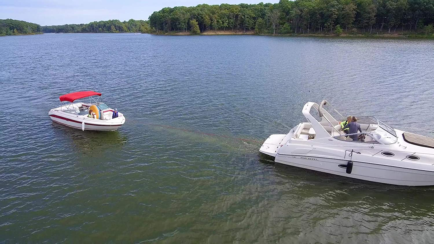 HEDZUP Boater Disabled TowMe Safety Flag They Wont Tow if They Dont Know
