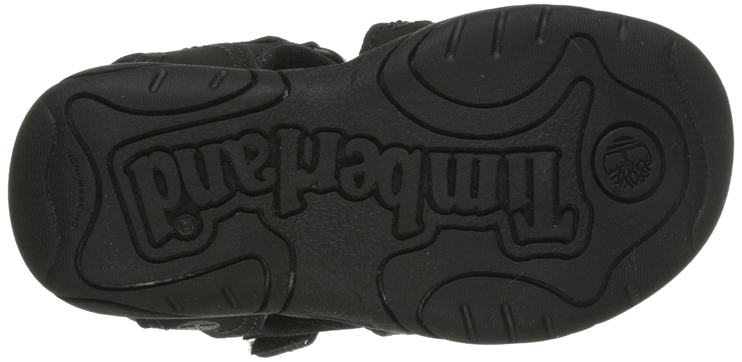Timberland Adventure Seeker Two-Strap Sandal (Toddler/Little Kid),Blackout,9 M US Toddler by Timberland (Image #3)