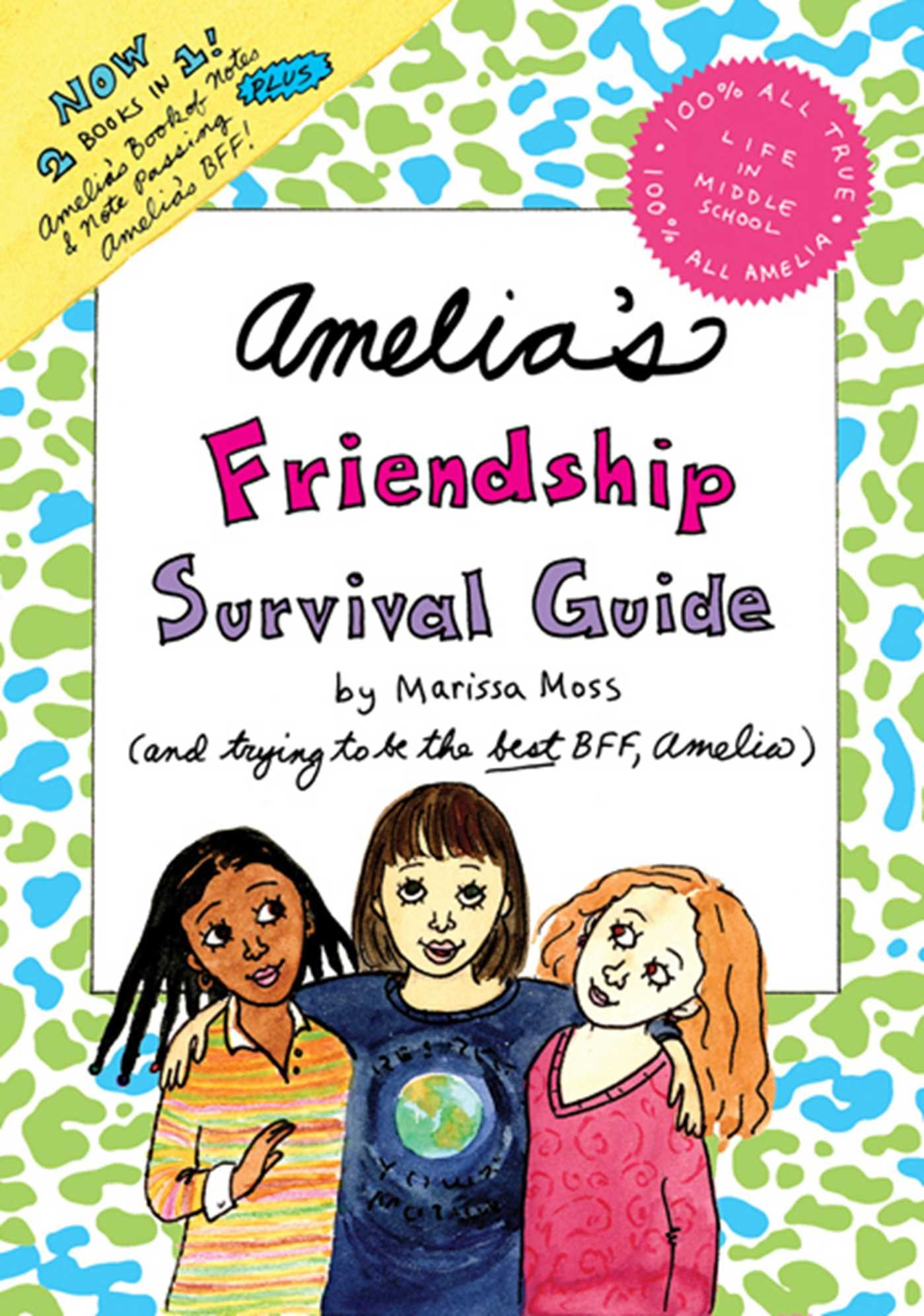 Amelia's Friendship Survival Guide: Amelia's Book of Notes & Note Passing;  Amelia's BFF: Marissa Moss: 9781442483040: Books - Amazon.ca