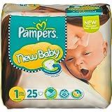 Pampers New Baby Gr.1 Newborn 2-5kg Tragepack, 6x25 Stück