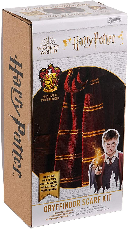 Harry Potter Gryffindor Sock Project Bag  Knitting  Crochet