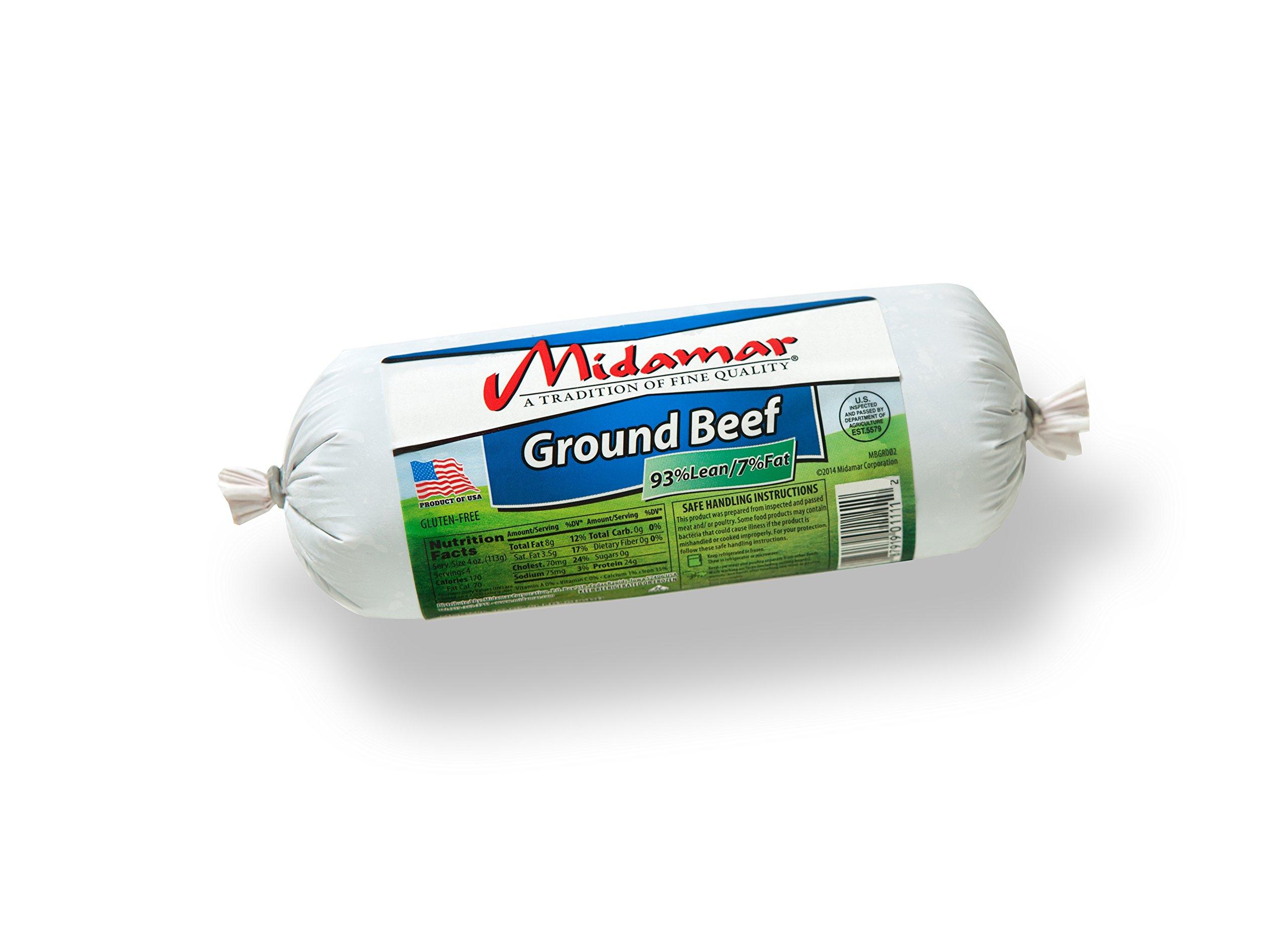 Midamar - Halal Pure Ground Beef (80% Lean) - 1 Case by Midamar