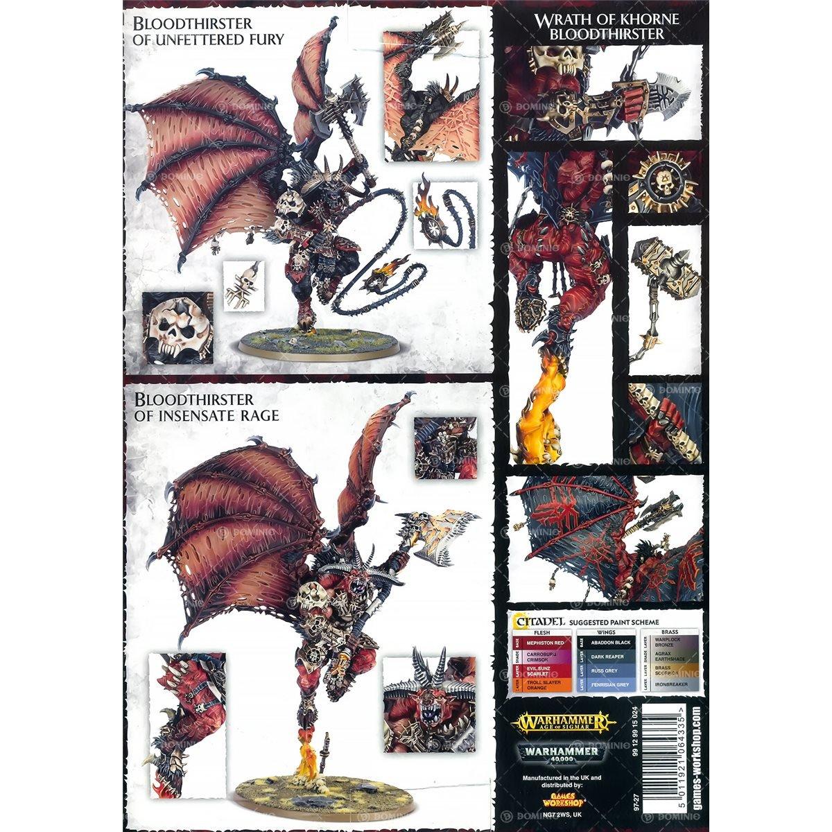 Warhammer Fantasy / Warhammer 40K Khorne Bloodthirster by Games Workshop (Image #5)