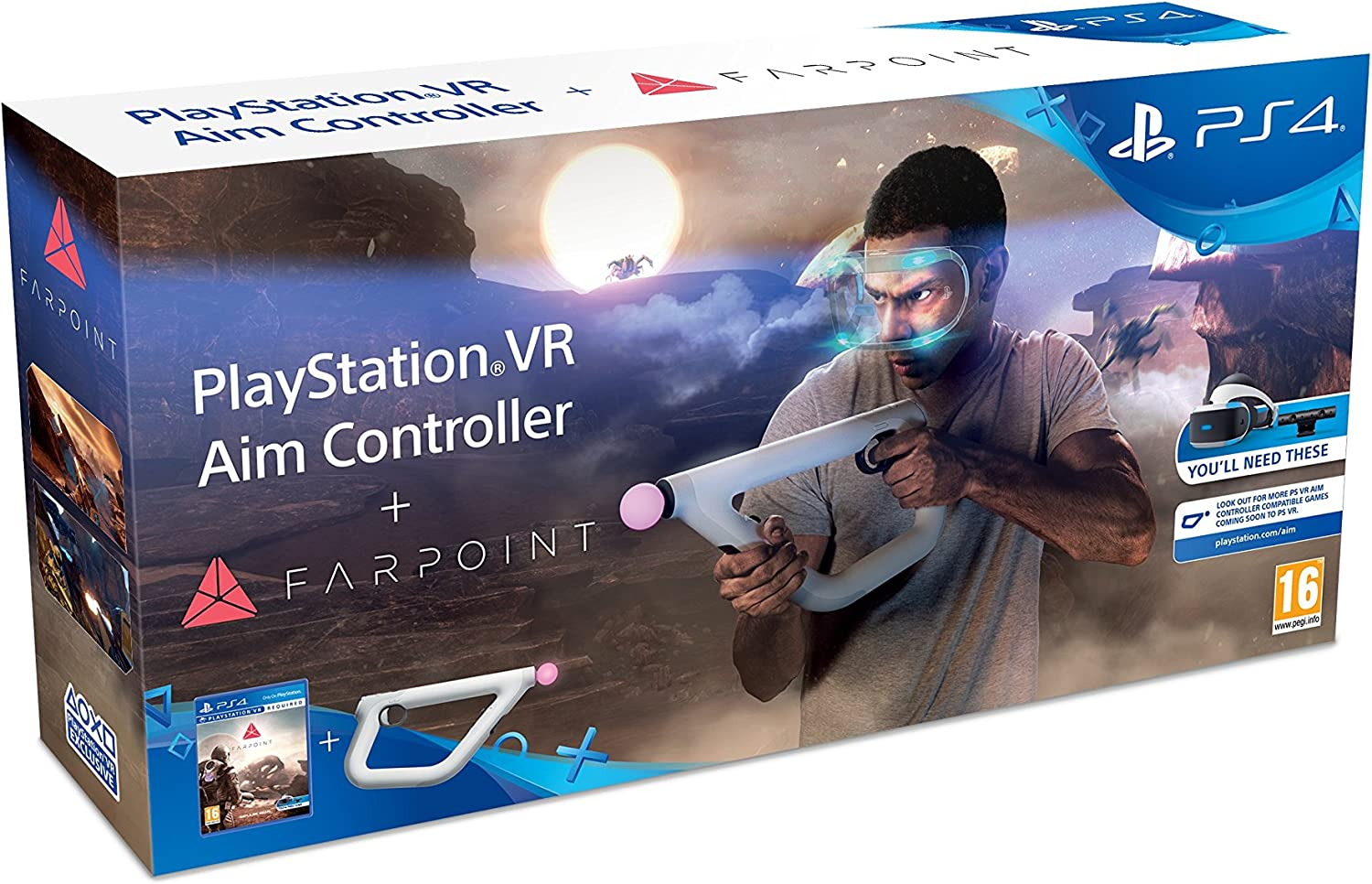 Play station VR aim controler + Farpoint: Amazon.es: Electrónica