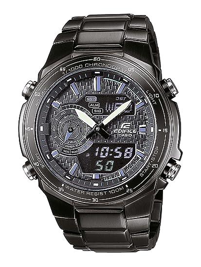 ff68fdf97a37 Reloj Casio Edifice para Hombre EFA-131BK-1AVEF  Amazon.es  Relojes