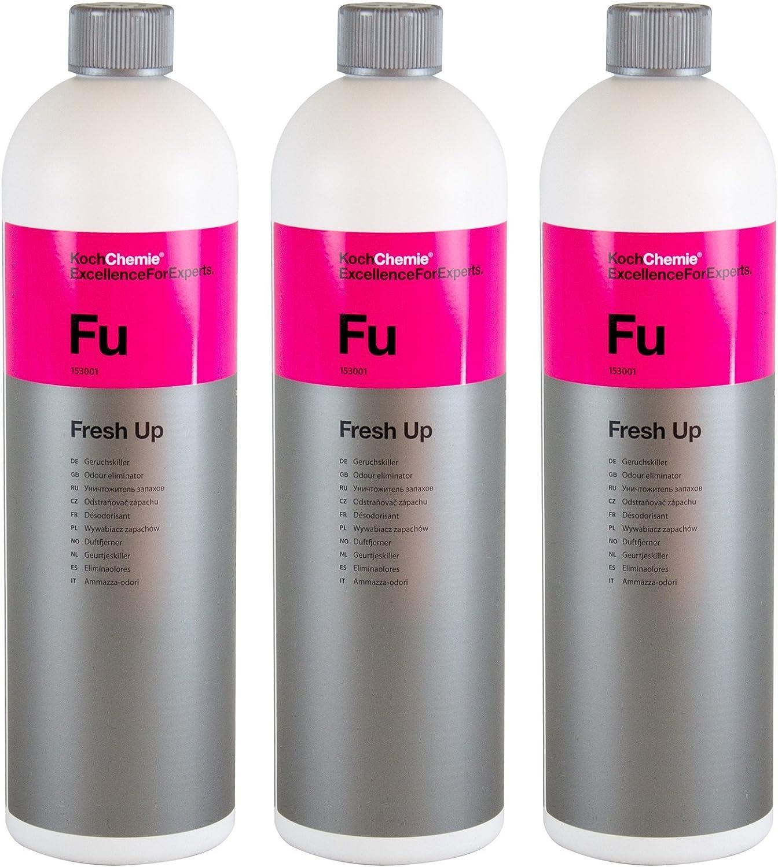 Koch Chemie 3x Fu Fresh Up Geruchskiller Geruchsentferner Geruchsvernichter 1 L Auto