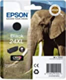 Epson 24XL serie Elefante Cartuccia Getto D'Inchiostro, Nero