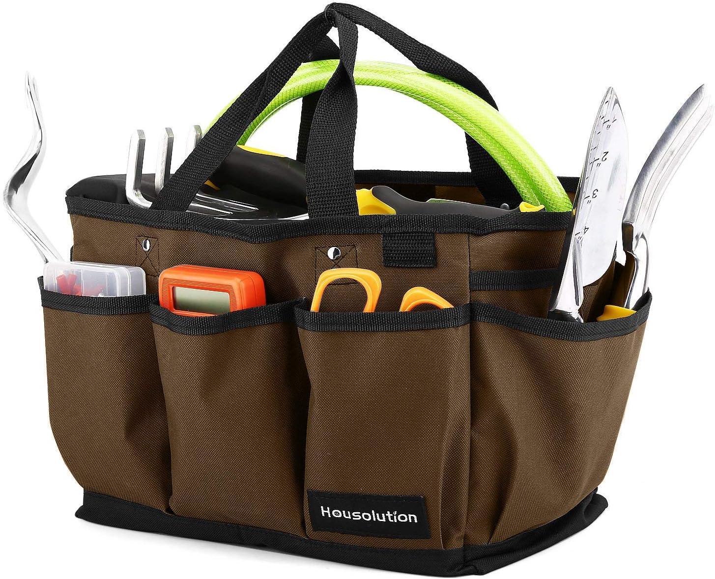 Bigking Gartenwerkzeug-Tasche Multi-Pocket-Gartenwerkzeug-Tasche H/üfttasche Organizer mit verstellbarem G/ürtel Gartenbedarf