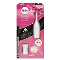 Veet Sensitive Precision Beauty Styler + GRATIS Manhattan Eyebrow Pencil