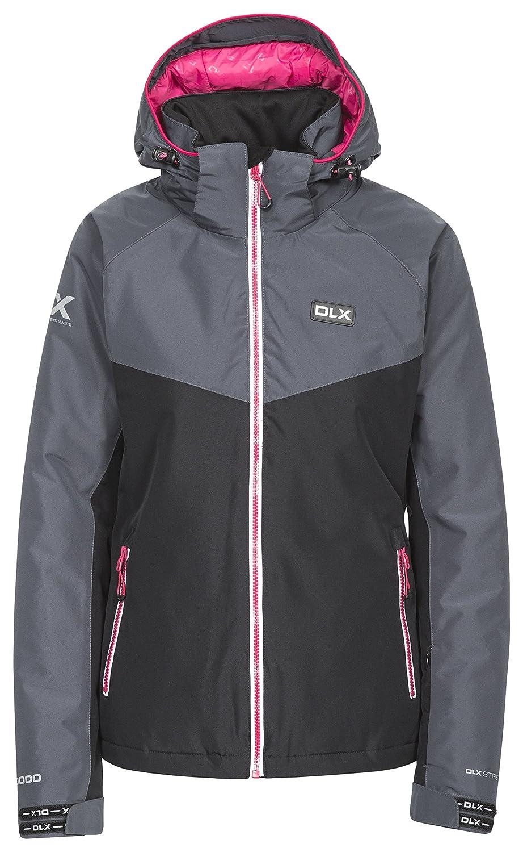 Black Trespass Crista DLX Stretch Womens Ski Jacket Waterproof Snowboarding Coat
