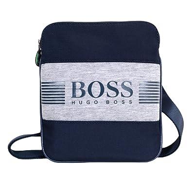 qualité de la marque achat original offre spéciale Hugo Boss, Sac à Main pour Homme Bleu Bleu Marine - Bleu ...