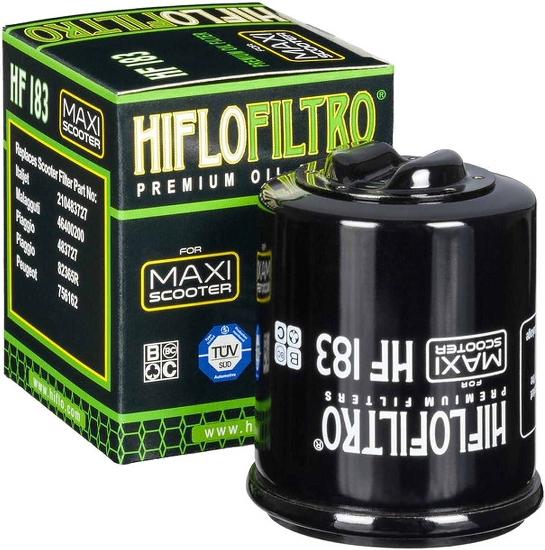 3x /Ölfilter GTX 125 4T Superhexagon 2002-2003 Hiflo HF183