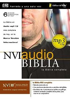 Reina valera 1960 biblia en audio spanish edition american bible nvi biblia audio mp3 cd spanish edition fandeluxe Image collections