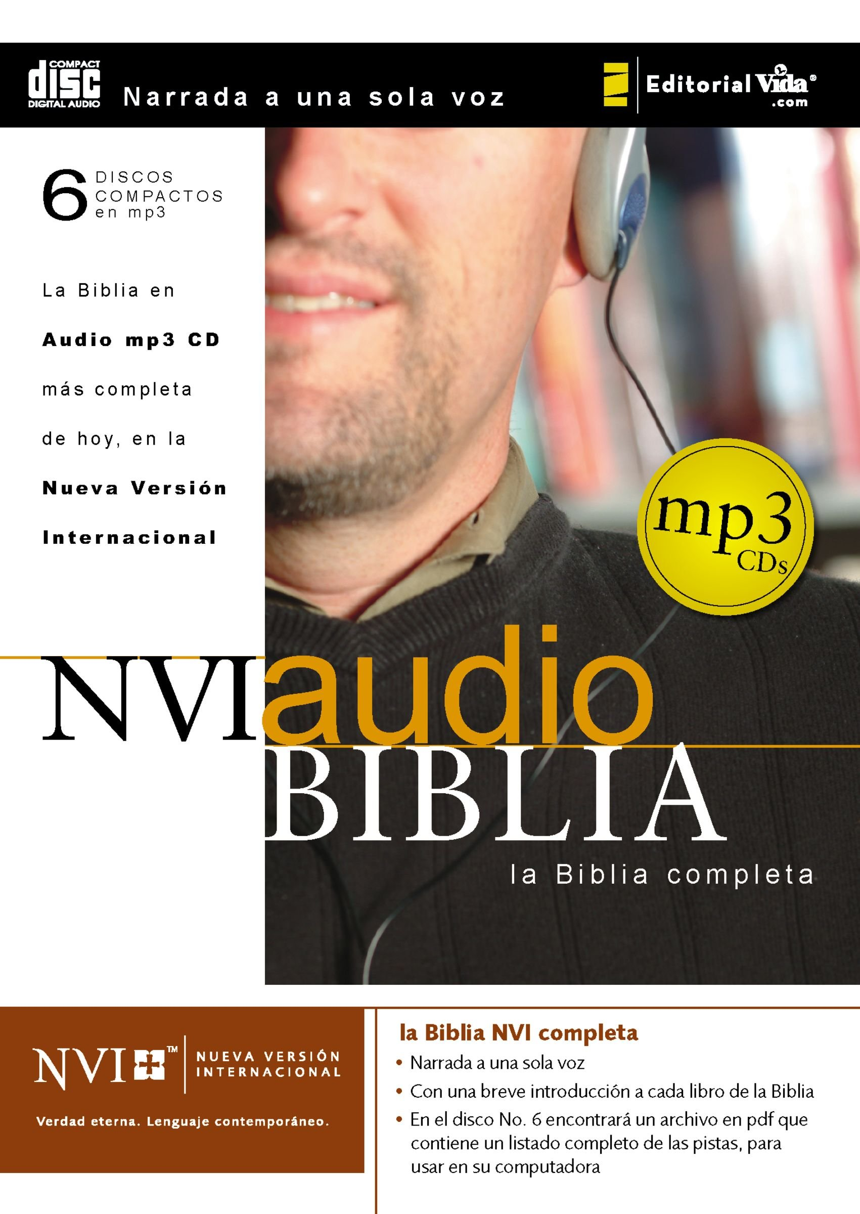 NVI Biblia audio MP3 CD (Spanish Edition) by HarperCollins Christian Pub.