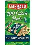 Emerald Nuts, Salt and Pepper Cashews 100 Calorie Packs, 7-Count Box
