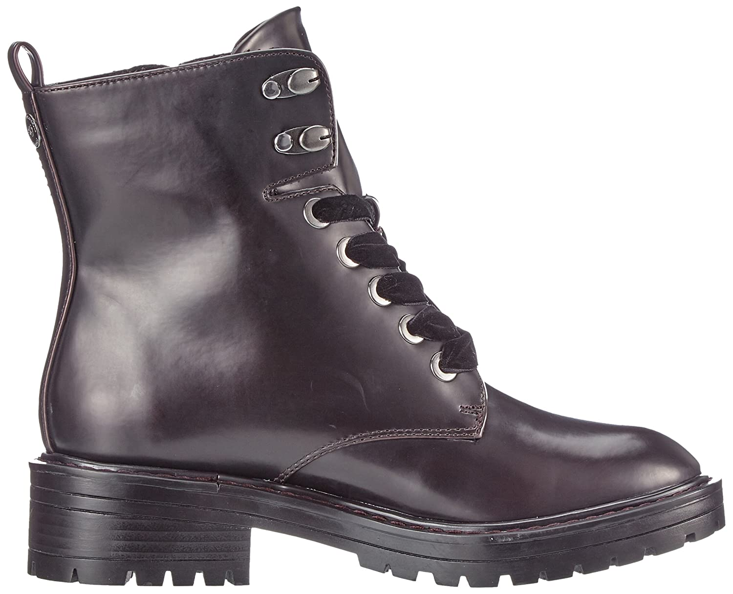 S.Oliver Rot Damen 26245 Combat Stiefel Rot S.Oliver (Bordeaux) 048981