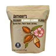Anthony's Almond Flour Blanched Culinary Grade, 5lbs, Batch Tested and Gluten Free, Keto Friendly