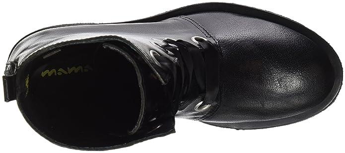 Mamatayoe Lazzareschi, Botines para Mujer, Negro (Black Real Leather), 37 EU: Amazon.es: Zapatos y complementos