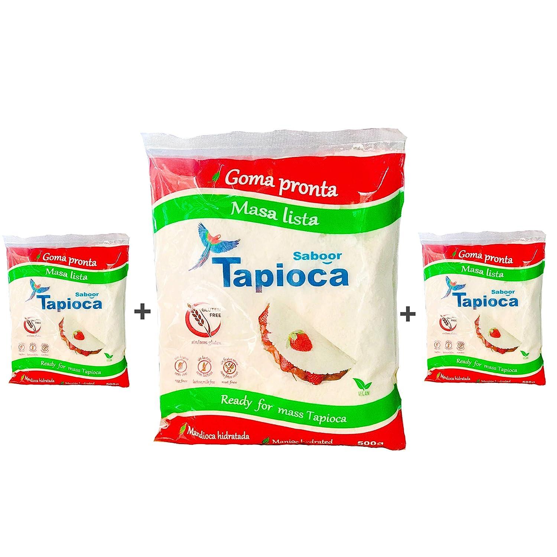 SABOOR TAPIOCA ja hidratada (3 UNIDADES) GLUTEN FREE: Amazon.es ...