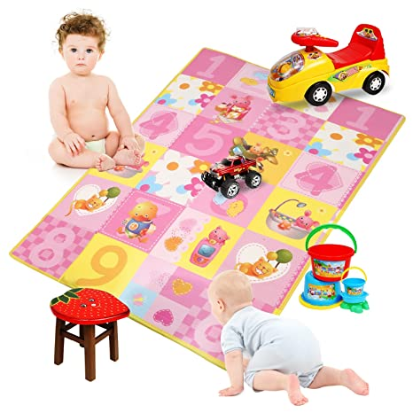 Baby Frog Game Playmat Newborn Baby Gym Activity Playmat Crawling Game Mat Cartoon Floor Play Mat With Pillow Plush Toys Baby Gyms & Playmats