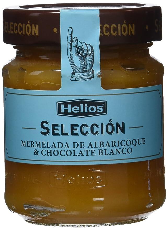 Helios Mermelada Extra de Albaricoque con Chocolate Blanco - 250 gr: Amazon.es: Alimentación y bebidas