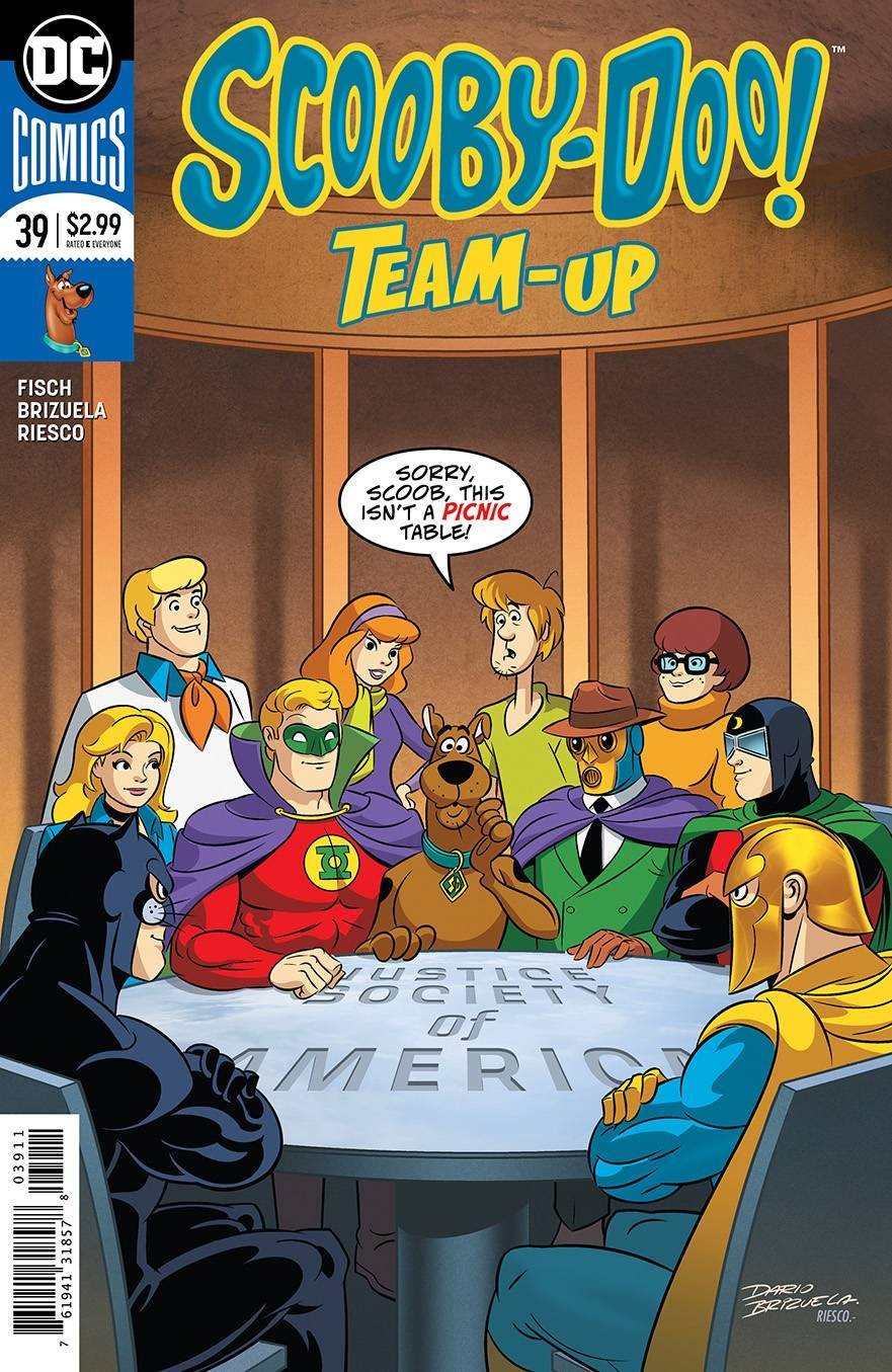 SCOOBY DOO TEAM UP #39 pdf