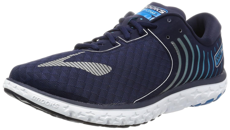Brooks Pureflow 6, Zapatos para Correr para Hombre 40.5 EU|Multicolor (Peacoat/Methylblue/Silver)