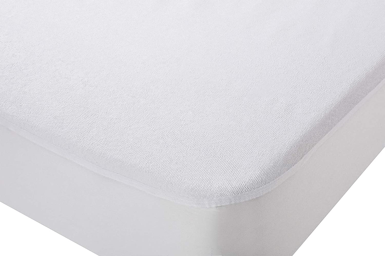 npt - Protector de Colchón/Cubre Colchón ajustable elástico. Impermeable y transpirable e hipoalergénico. (Cama de 105 x 190 cm)