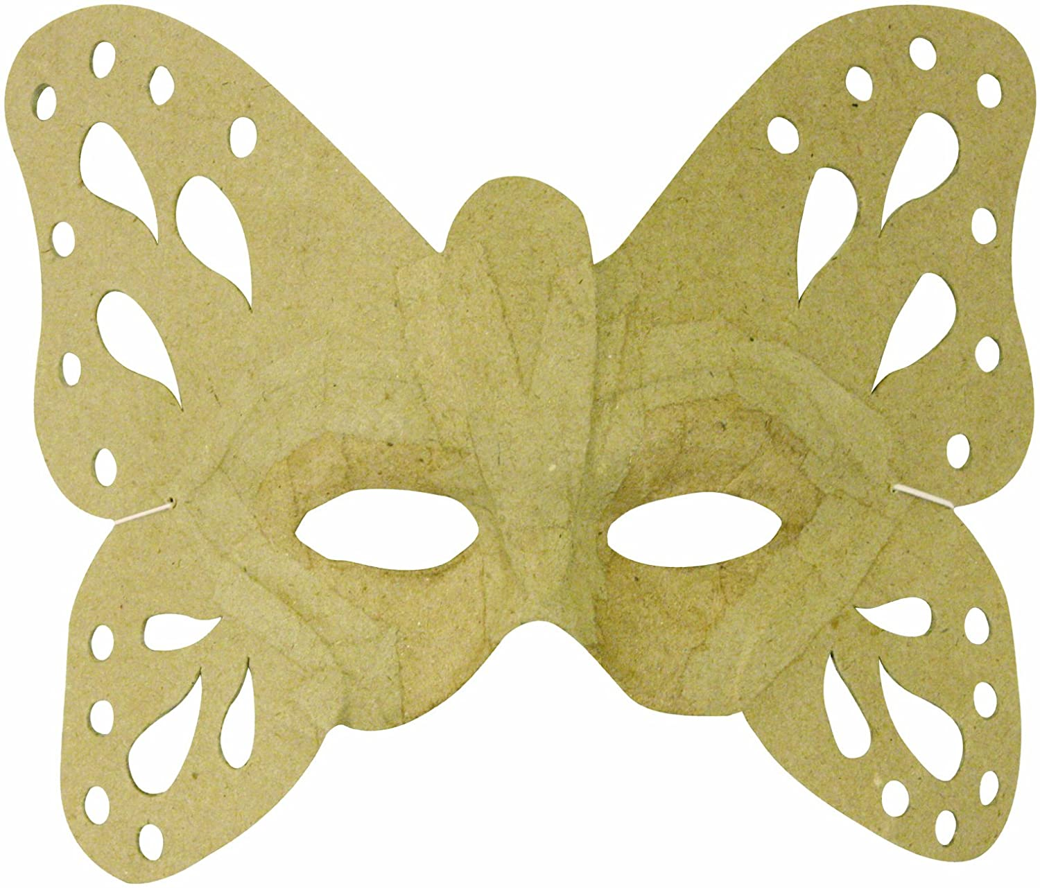 Decopatch Mache Mask Butterfly Brown AC292O