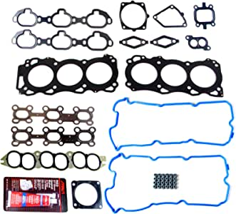 SCITOO Compatible with Head Gasket Kits fit for Nissan Pathfinder for Infiniti QX4 3.5L 2001-2004 Engine Head Gaskets Automotive Replacement Gasket Set