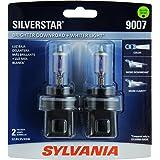 SYLVANIA 9007 SilverStar High Performance Halogen Headlight Bulb, (Contains 2 Bulbs)