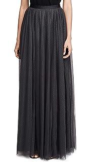 81b64512f5 Needle & Thread Women's Shimmer Sequin Midaxi Skirt, Ivory, Off ...