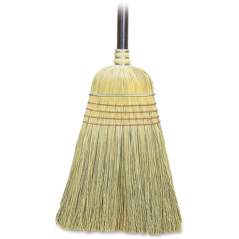 Genuine Joe corn fiber toy broom, natural, GJO12001EA