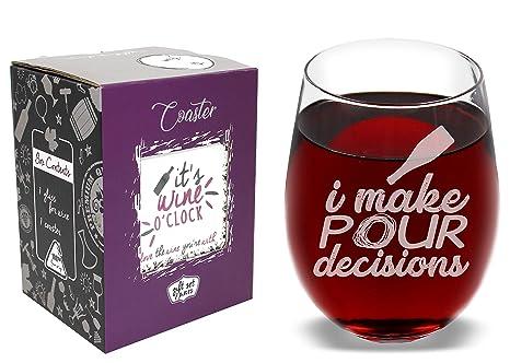 Amazon.com: I Make pour decisiones – divertida de la novedad ...