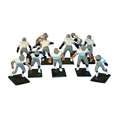 Electric Football 11 Regular Size Men in Grey Blue Away Uniform: Toys & Games