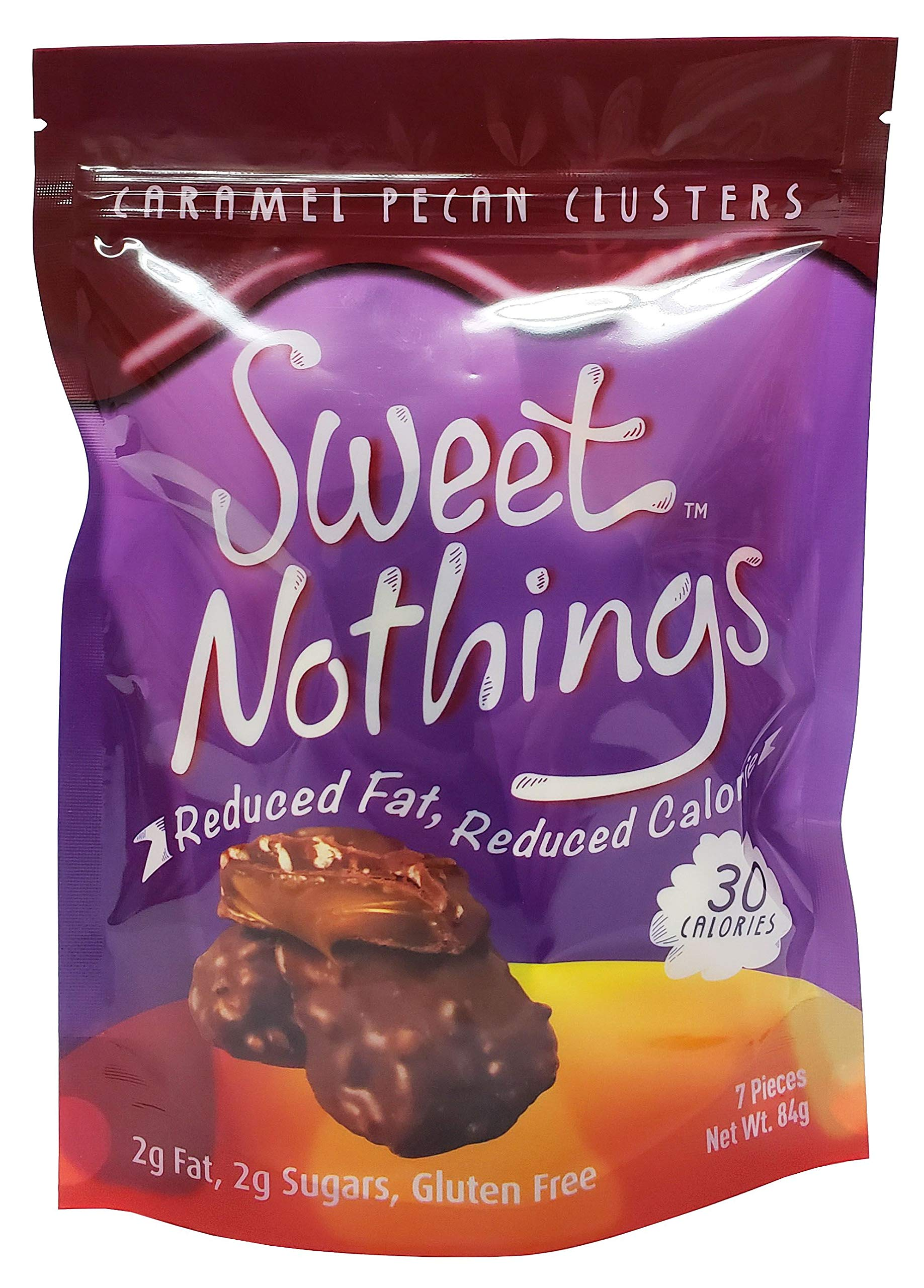 Sweet Nothings Sweet Nothings Caramel Pecan Clusters, 84 Gram (Pack of 6) by Sweet Nothings