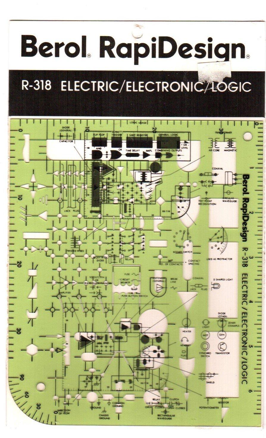 Berol, RapiDesign, R-318, Electric/Electronic/Logic