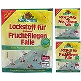 3 x 30 ml Neudorff Lockstoff für Permanent FruchtfliegenFalle