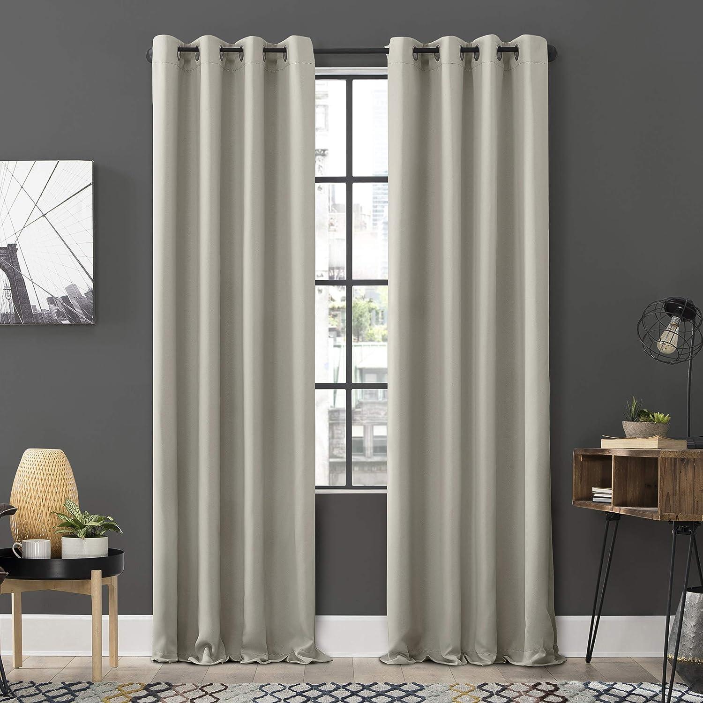 Sun Zero Soho 2-Pack Energy Curtain Blackout P Efficient Daily Max 59% OFF bargain sale Grommet