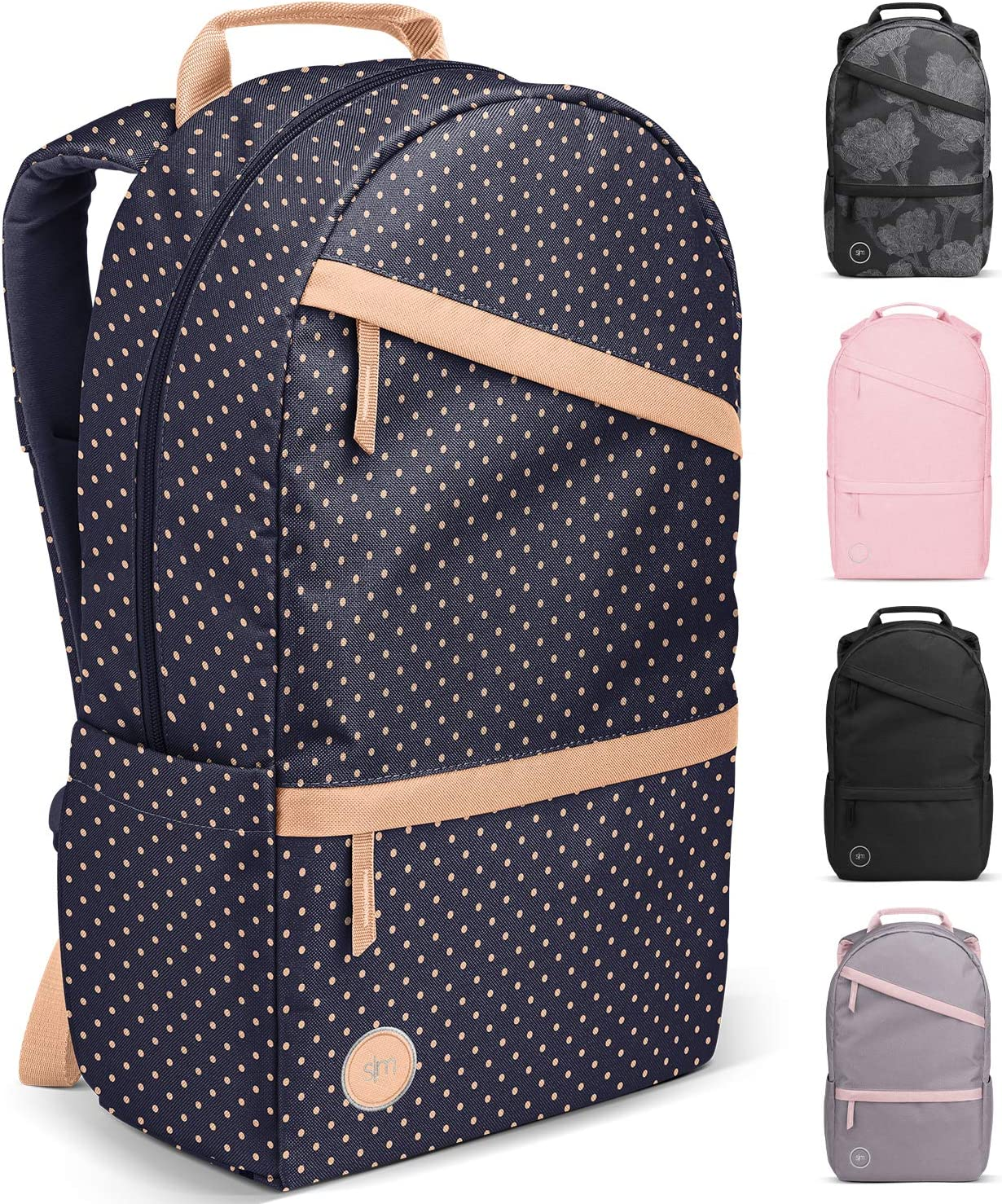 Simple Modern Legacy Backpack with Laptop Compartment, Dainty Dots, 25 Liter