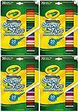 Crayola 58-8106 20CT Super Tips Marker (Pack of 4)
