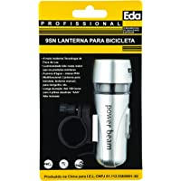 Lanterna dianteira para bicicleta 5 LEDs, Eda, 9SN, Preto