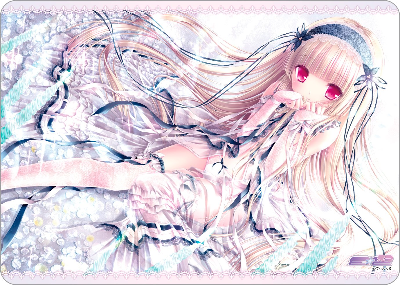 E-tsu Twinkle Bianco Loto Universal Trading Card Playmat Play Mat Collection