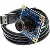 ELP 2.1mm Lenti Telecamere di sorveglianza Modulo Supporto Android Windows Linux per Casa Sicurezza e Video Conferenza