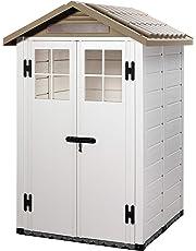 GARDIUN Caseta de Resina Tuscany EVO 120 2 Puertas 144x137x214 cm