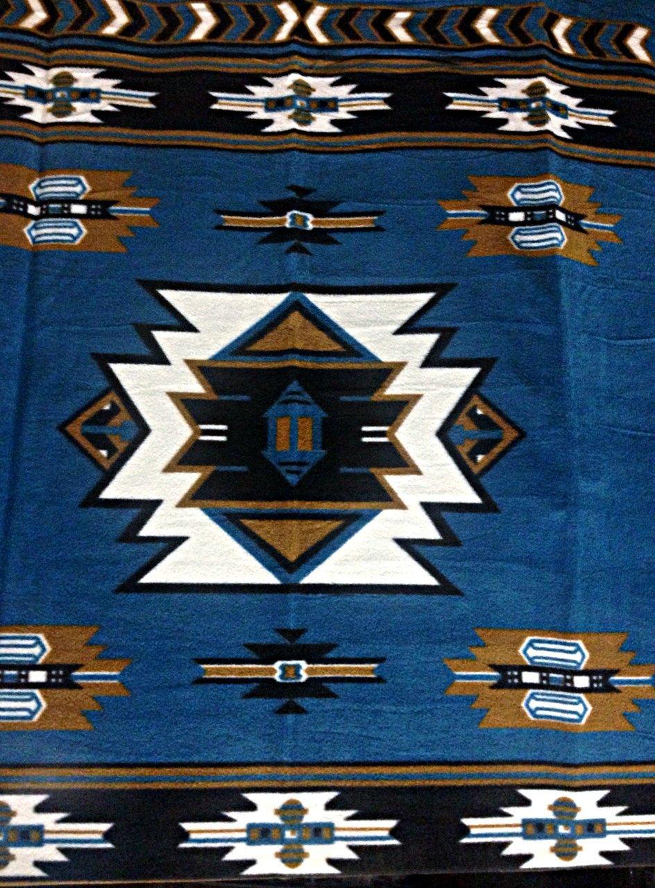 El Toro Plush Blanket Queen Size (estillo San Marcos)
